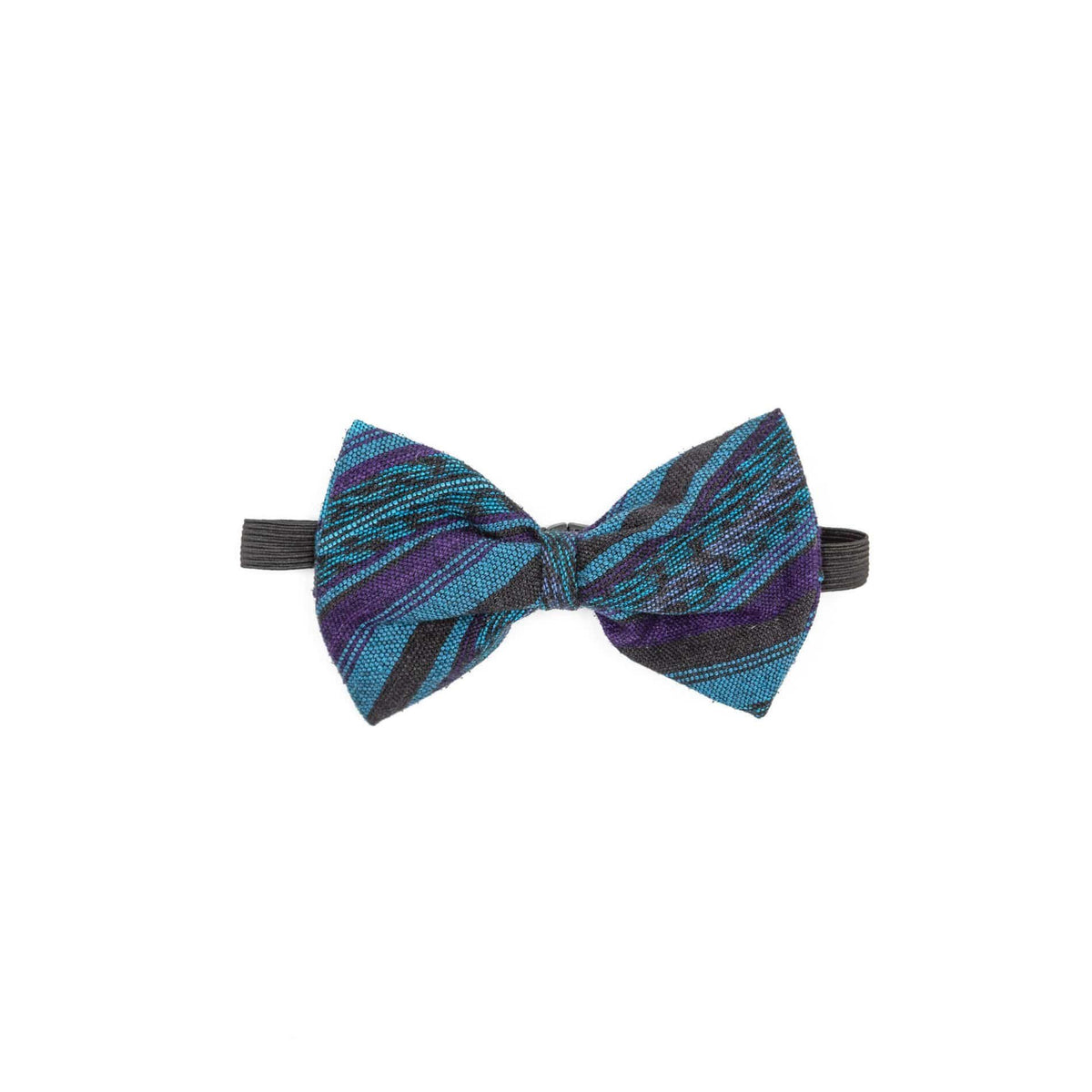 Guatemalan Fair Trade Recycled Corte Bow Tie