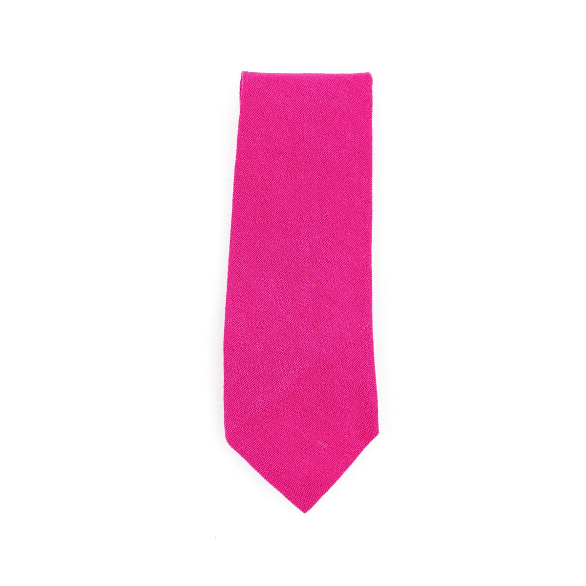 Fair Trade Guatemalan Cotton Tie Fucsia