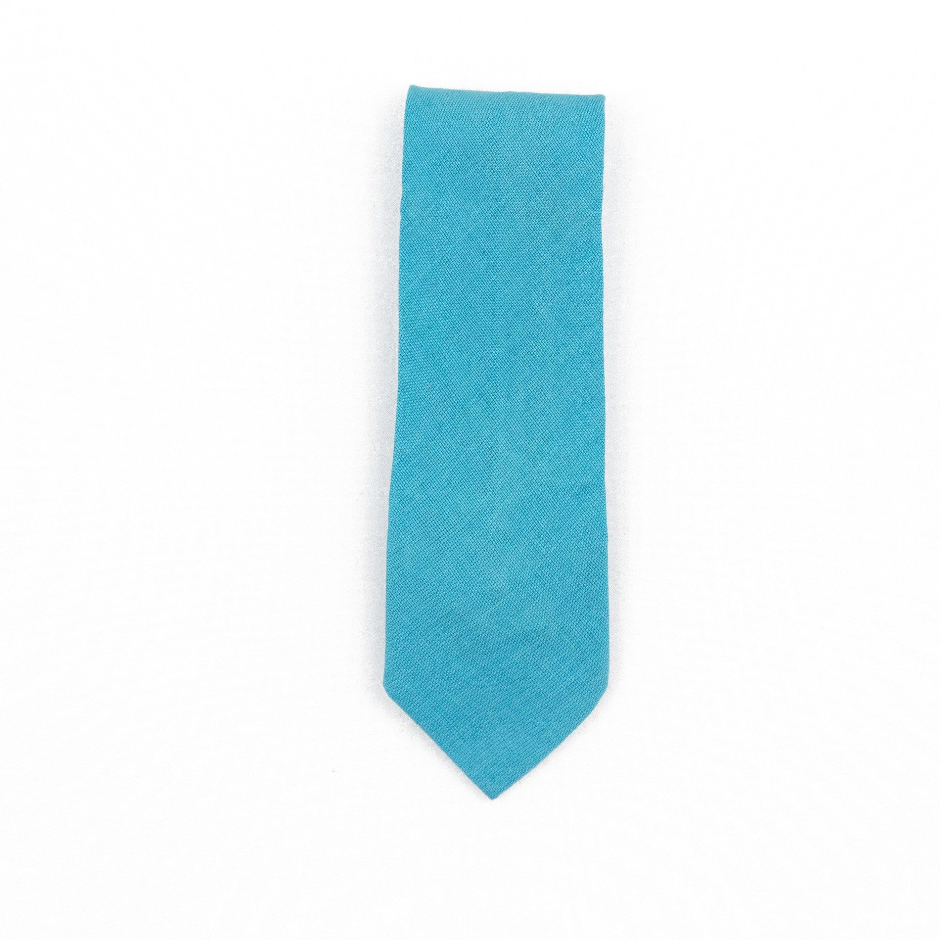 Fair Trade Guatemalan Cotton Tie Sky Blue