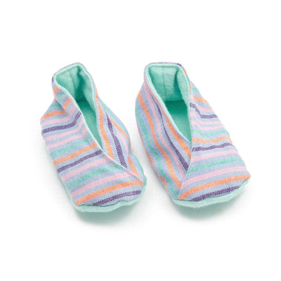 Fair Trade Handwoven Baby Booties Pastels