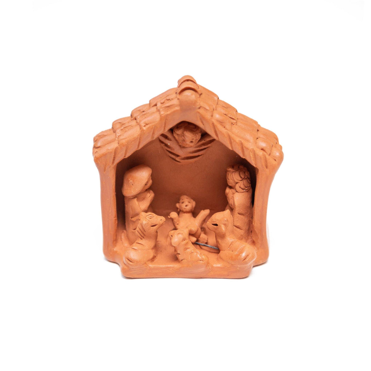 Terracotta Stable Nativity