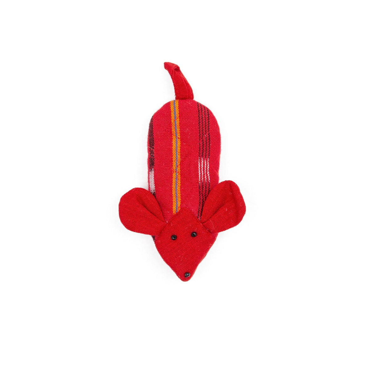 Fair Trade Handmade Skillet Handle Holder Mouse Mouse Red