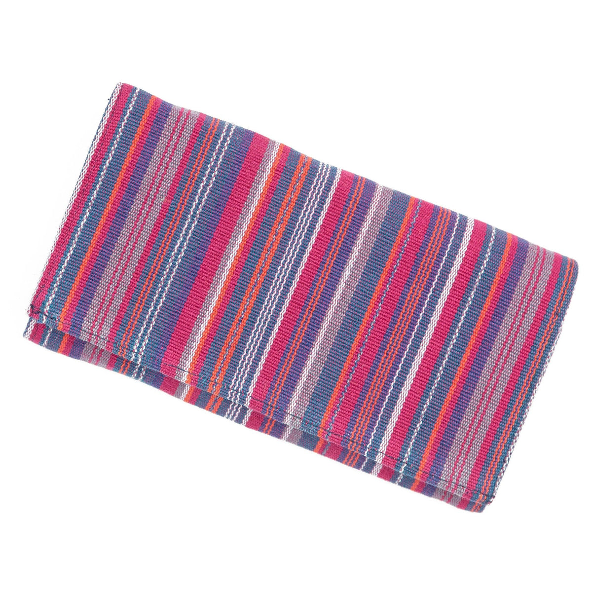 Fair Trade Organizing Clutch Wallet Pink