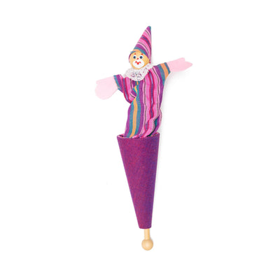 Pop-Up Clown Toy