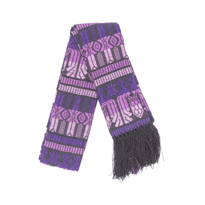 Fair Trade Purple Brocaded Clerical Stole
