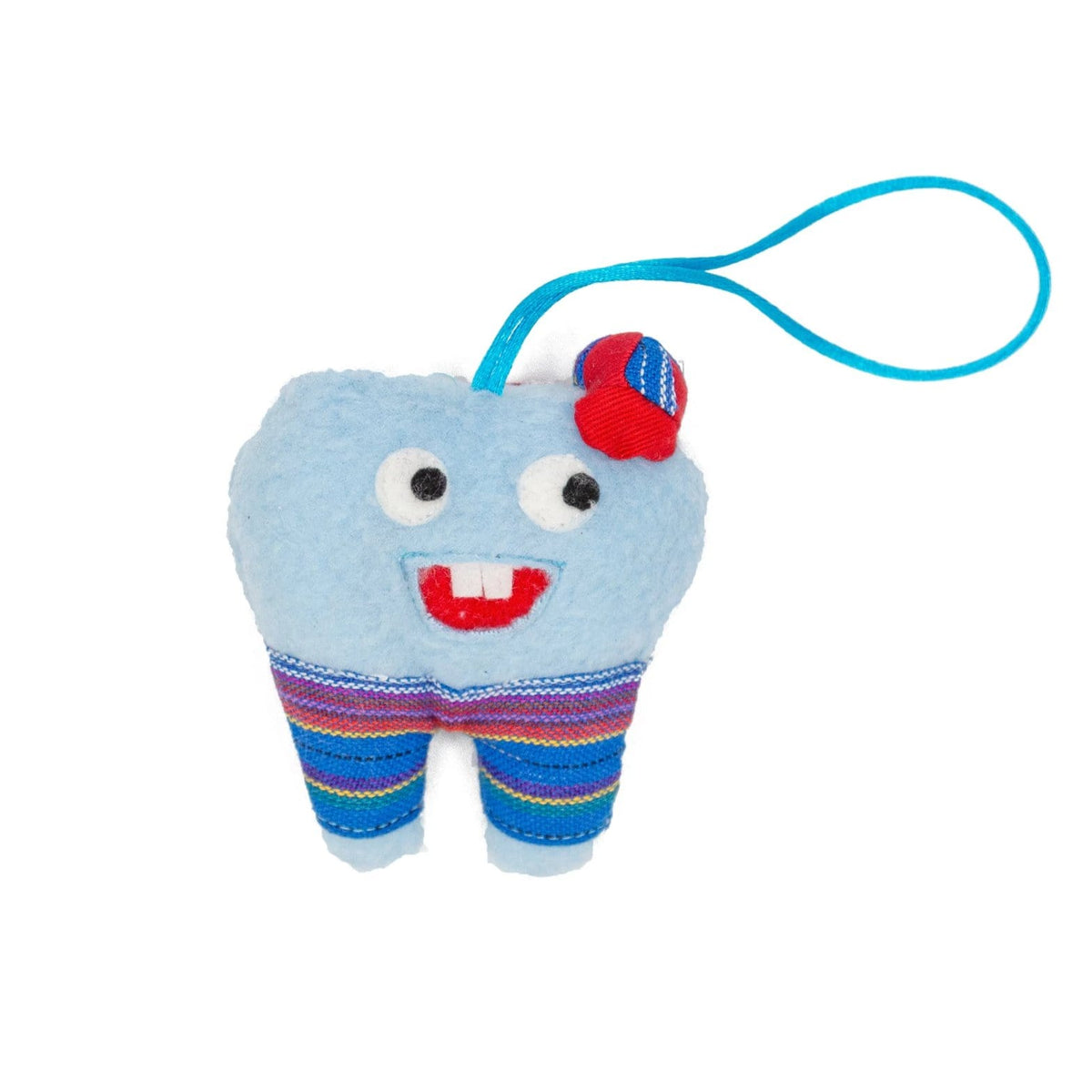 Fair Trade Tooth Fairy Bag Blue