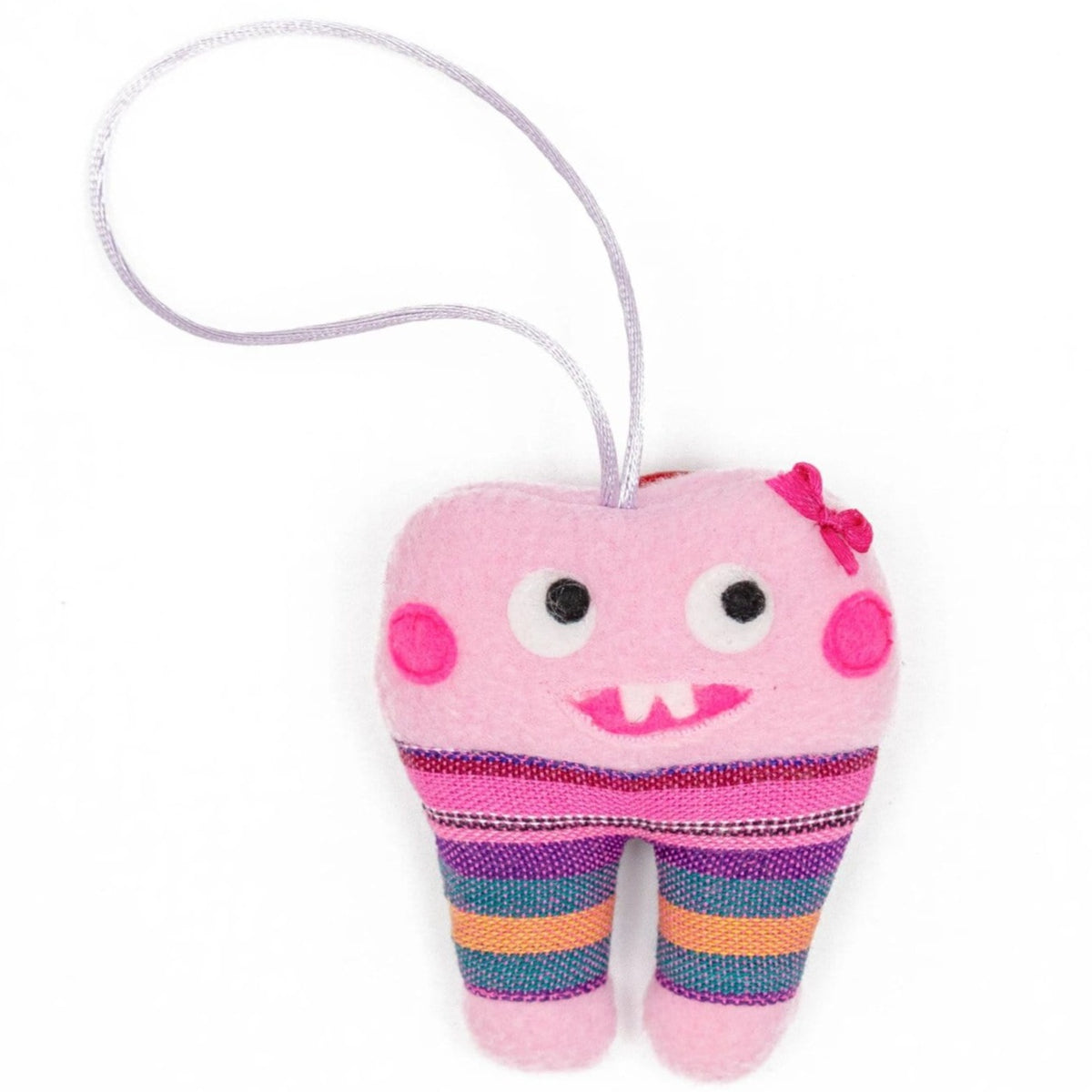 Fair Trade Tooth Fairy Bag Pink