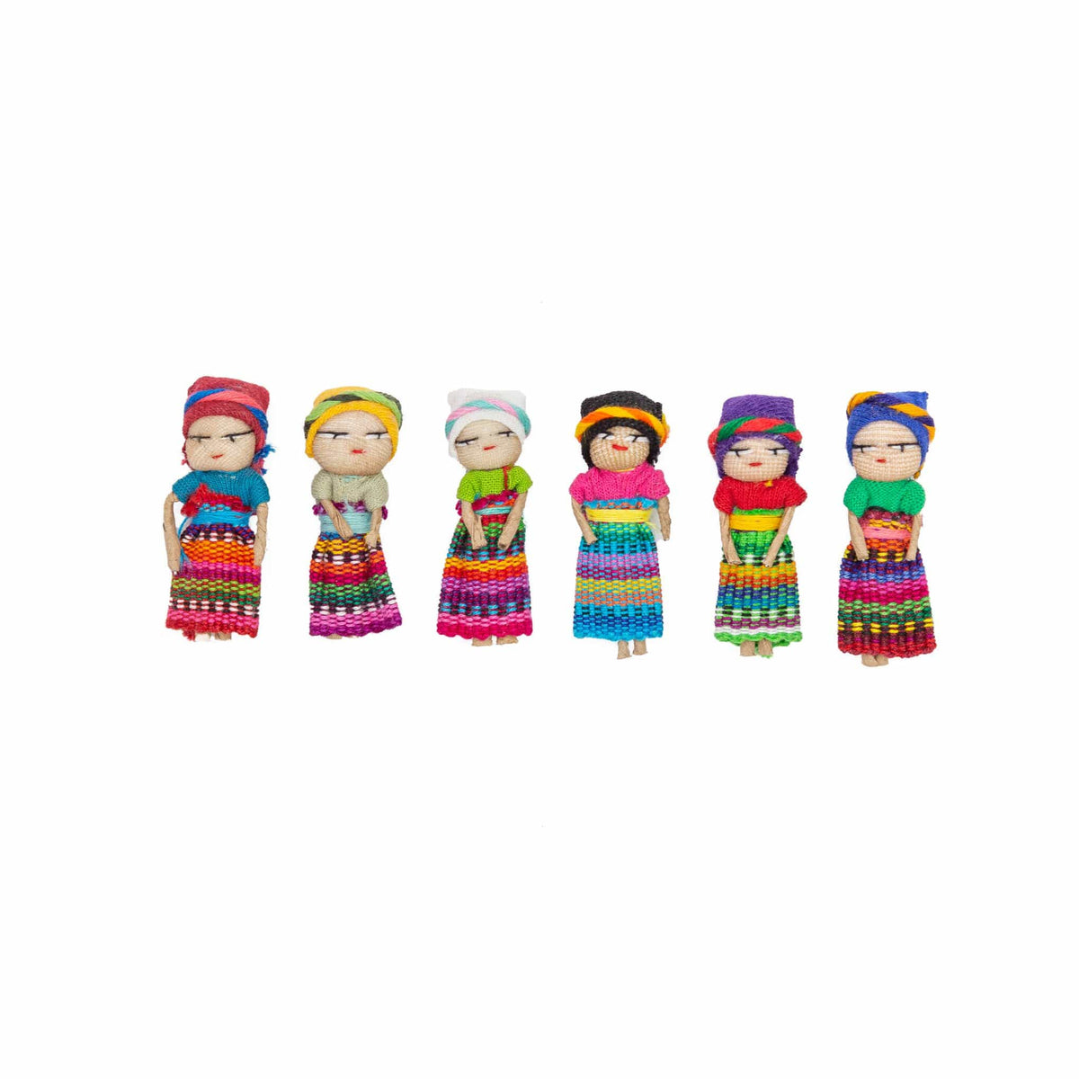 Worry Dolls - Set of 6