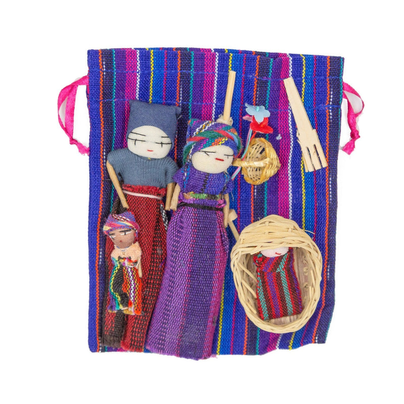 Fair Trade Mayan Family Playset