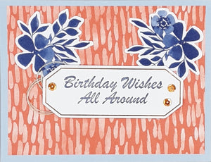 Birthday Wishes All Around Greeting Card