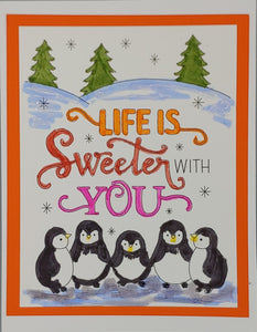 Life is sweeter with You Greeting Card