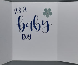 Special Delivery - Baby Boy Greeting Card