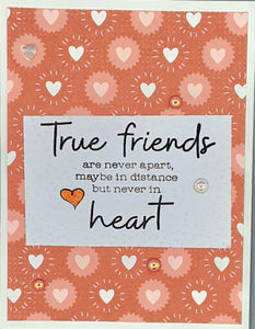 True Friends Greeting Card