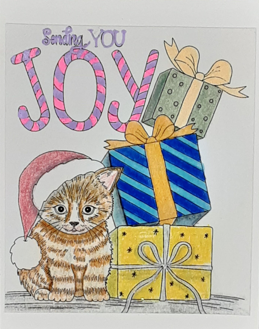 Sending you Joy Greeting Card