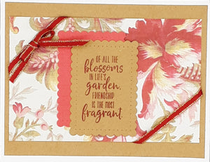 If All the Blossoms Greeting Card