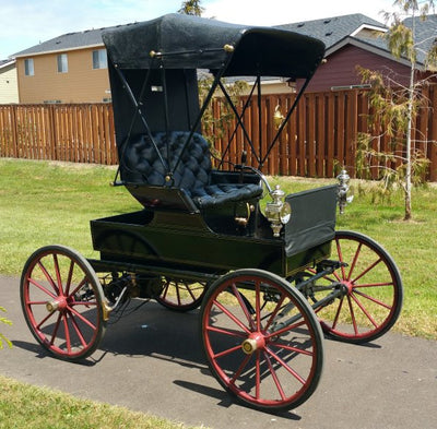 Energizing a 1904 Electric Woods Road Wagon