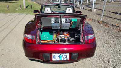Porsche 911 Carrera (996) powered by American Electric Muscle