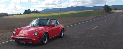On the road again, Electrified 1978 Porsche 911 SC