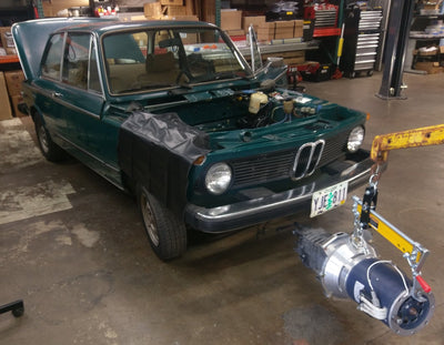 Second life for a BMW 2002 series