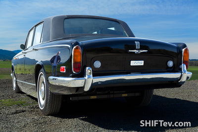 Johnny Cash's Rolls-Royce, a deep TESLA resto-mod