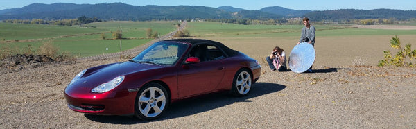 Porsche 911 Carrera (996) converted to electric power