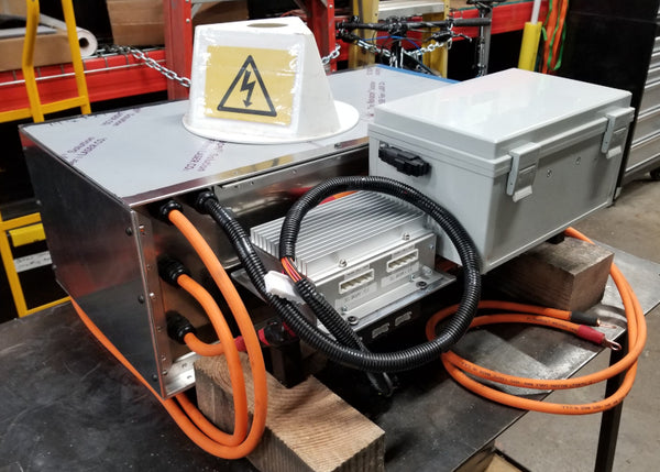 TESLA Battery Modules in custom box to fit BMW 2002 Series
