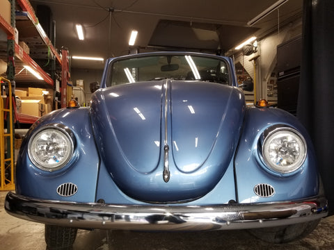 VW Bug conversion to electric