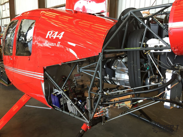 Electric Helicopter conversion with dual YASA motors