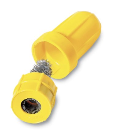 Battery cleaning brush, plastic