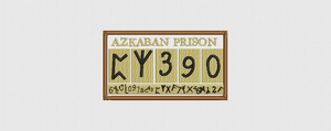 Harry Potter inspired Machine Embroidery Design. Azkaban. 5 sizes