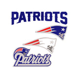 NFL New England Patriots  inspired Machine Embroidery design. Filled and Applique Designs. 4 Designs Multiple Sizes