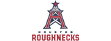 XFL Houston Roughnecks inspired Machine Embroidery design.  Logo, Text and Logo with text in multiple sizes