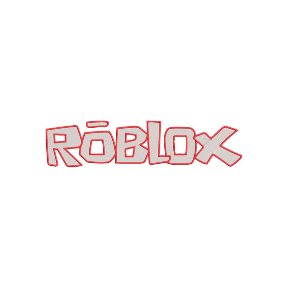 ROBLOX logo Machine Embroidery Design