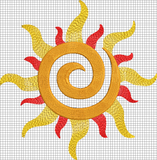 Disney Tangled Inspired Machine Embroidery File Corona Sun Symbol Mouse More Boutique
