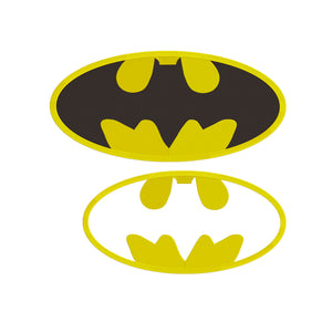 DC Comics Inspired Batman Logo Machine Embroidery Design.