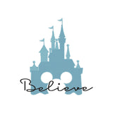 BUNDLE - Disney Castle inspired Machine Embroidery Design.