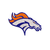 NFL Denver Broncos inspired Machine Embroidery design. Filled and Applique Designs. 4 Designs Multiple Sizes