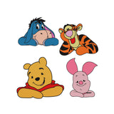 BUNDLE - Disney inspired Winnie the Pooh and Friends Machine Embroidery Design.  Pooh, Piglet, Tigger and Eeyore!