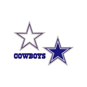 NFL Dallas Cowboys inspired Machine Embroidery design. Filled and Applique Designs. 3 Designs Multiple Sizes