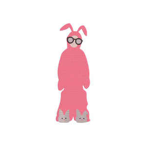 Inspired by A Christmas Story Movie. Ralphie in his Bunnysuit.  6 Sizes.