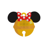 BUNDLE - Disney Inspired Machine Embroidery Christmas Design. Mickey and Minnie Bell Design - Christmas 7 Sizes