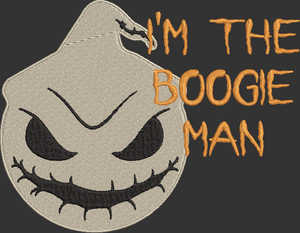 Oogie Boogie from The Nightmare Before Christmas! Movie Inspired Machine Embroidery Design File. 2 sizes