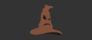 Harry Potter Sorting Hat inspired Machine Embroidery Design. 6 Sizes