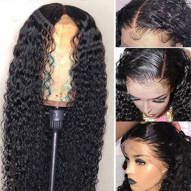 (Free shipping over $45!!)Best selling Curly wig pre-taken Brazilian 360 lace front wig curled human wig