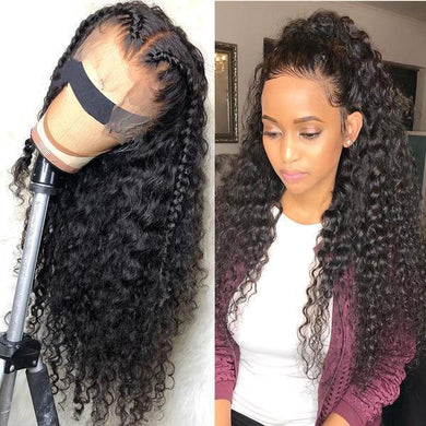 (HOT SALE🔥)Curly Ombre 360 Lace Frontal human  Wig