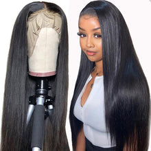 Load image into Gallery viewer, (HOT SALE🔥)STRAIGHT FRONT LACE TRIM WIG FRONT STRAIGHT GRAIN BRAZILIAN WIG