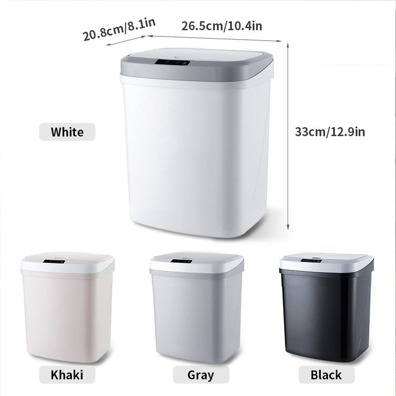 4 gallon 16 liter automatic trash can