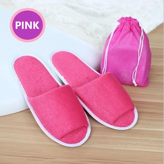 disposable_guest_spa_slippers_pink