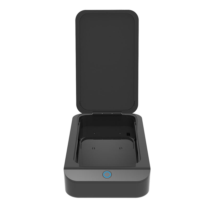 UV-C light sanitizing box for phones