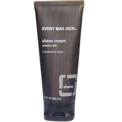 Shave Cream Fragrance Free 200 ml